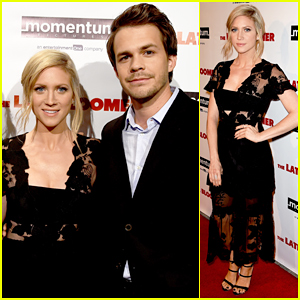 Brittany Snow Debuts 'The Late Bloomer' In L.A - Watch Trailer!