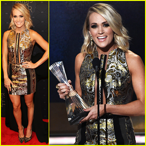 Carrie Underwood Is CMT's Artist Of The Year!