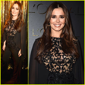 Cheryl Attends Fashion Week Event Amid Pregnancy Rumors
