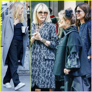 Dakota Fanning Begins 'Ocean's 8' Filming With Sandra Bullock, Cate Blanchett, & Helena Bonham Carter!