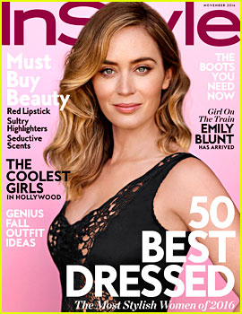 Emily Blunt Talks About Overcoming Her Stutter as a Child
