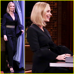 Emily Blunt Plays Box Of Lies with Jimmy Fallon! (Video)