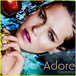 Erin Heatherton Fronts Beauty Campaign for First Time with Adore Cosmetics