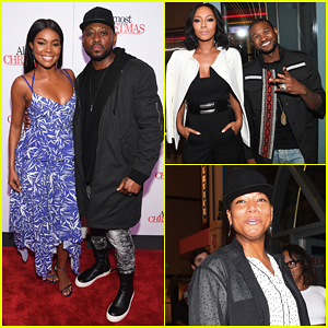 Gabrielle Union Celebrates Birthday At 'Almost Christmas' Atlanta Premiere!
