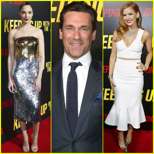 Gal Gadot & Jon Hamm Premiere 'Keeping up with the Joneses'