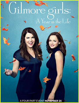 'Gilmore Girls: A Year in the Life' Reveals New Posters!