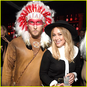 Hilary Duff & Boyfriend Jason Walsh Couple Up for Casamigos' Halloween Party!