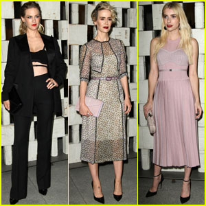 January Jones & Sarah Paulson Step Out in Style for Hammer Museum Gala 2016