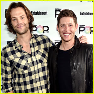 Jared Padalecki & Jensen Ackles Do 'CSI: Miami' Impression at EW PopFest! (Video)