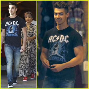 Joe Jonas Goes Shopping with DNCE Bandmate JinJoo Lee