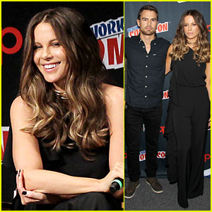 Kate Beckinsale & Theo James Debut New 'Underworld: Blood Wars' Trailer at NYCC!