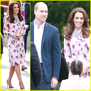 Kate Middleton & Prince William Support Mental Health Day with Heads Together
