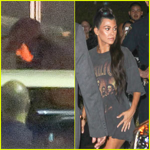 Kim Kardashian Steps Out to Support Kanye West's Third Concert in LA