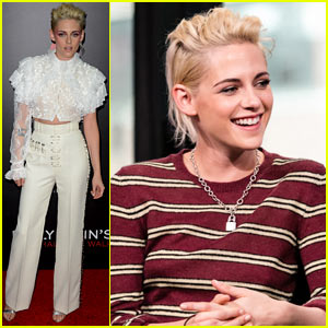 Kristen Stewart Looks Chic at 'Billy Lynn's Long Halftime Walk' Premiere in NYC