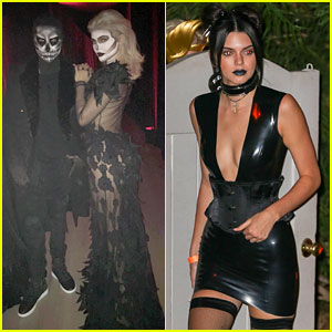 Kylie Jenner Hosts Epic Halloween Dinner with Tyga & Kendall
