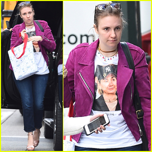 Lena Dunham Debuts a Cute New Haircut!
