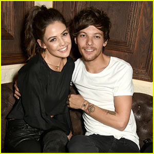 Louis Tomlinson & Girlfriend Danielle Campbell Cozy Up at London Nightclub!