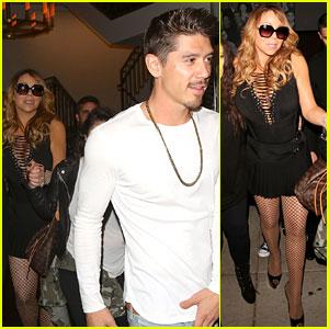 Mariah Carey Spends Time with Dancer Bryan Tanaka After James Packer Split