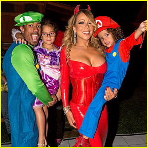 Mariah Carey Celebrates Halloween Early with Kids & Ex Nick Cannon!