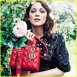 Marion Cotillard Poses in Christian Dior's Childhood Garden for New Lady Dior Campaign!