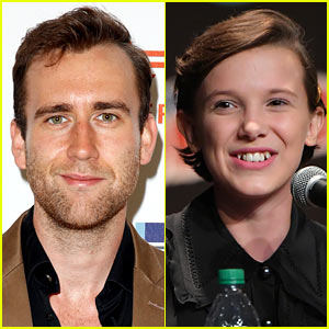Matthew Lewis' Neville Longbottom Meets Millie Bobby Brown's Eleven from 'Stranger Things'!