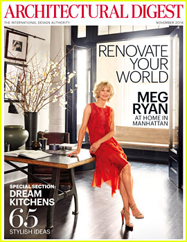 Meg Ryan Shows Off Stunning Soho Loft in 'Architectural Digest'