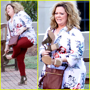 Melissa McCarthy Films 'Life of the Party' in Atlanta