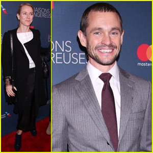 Naomi Watts Supports Ex Liev Schreiber at Broadway Opening