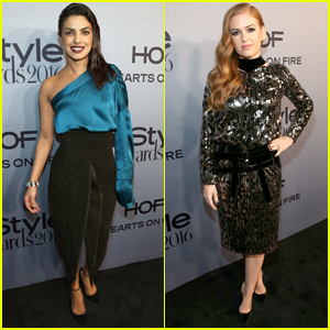 Priyanka Chopra & Isla Fisher Stun at InStyle Awards 2016