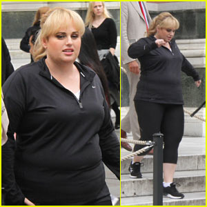 Rebel Wilson Gets to Work on Filming Her New Project in Italy!