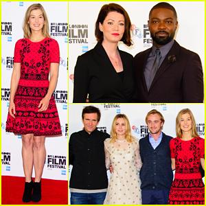 Rosamund Pike & David Oyelowo Open BFI London Film Fest with 'A United Kingdom' - Watch Trailer!