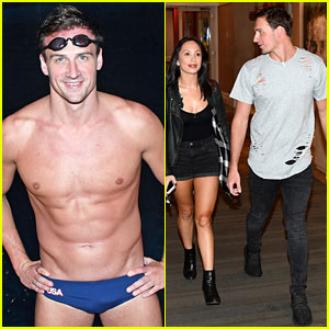 Ryan Lochte Puts His Speedo Back On for 'DWTS' Cirque du Soleil Performance Practice