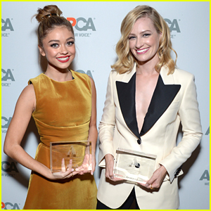 Sarah Hyland & Beth Behrs Honored at ASPCA Los Angeles Fundraiser