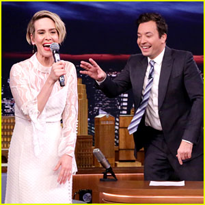 Sarah Paulson Flawlessly Raps Salt-N-Pepa's 'Shoop' (Video)
