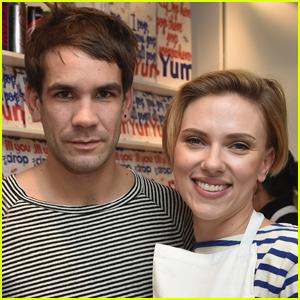Scarlett Johansson & Hubby Romain Dauriac Open a Popcorn Shop!