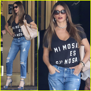 Sofia Vergara Had Some Special Visitors on the 'Modern Family' Set