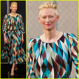 Tilda Swinton's Kids Got To Work On 'Doctor Strange'!