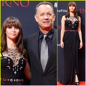 Tom Hanks & Felicity Jones Premiere 'Inferno' in Berlin!