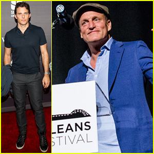 Woody Harrelson & James Marsden Kick Off New Orleans Film Festival 2016!
