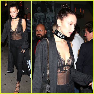 Bella Hadid Already Got To Try on Her Victoria's Secret Angel Wings!