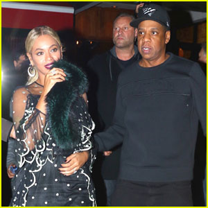 Beyonce Celebrates Sister Solange at 'SNL' After-Party!