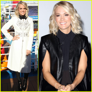 Carrie Underwood Hops Aboard Carnival Cruise to Honor Military Familes