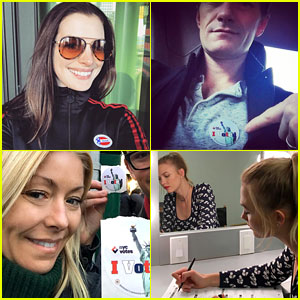 Celebrities Vote in Presidential Election 2016! (Photos)