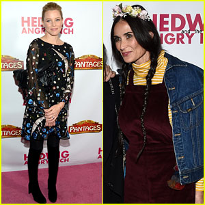 Demi Moore & Elizabeth Banks Join Star-Studded Crowd at 'Hedwig' Opening Night in LA!