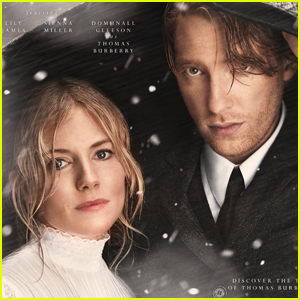 Domhnall Gleeson & Sienna Miller Star in Burberry's Holiday Campaign