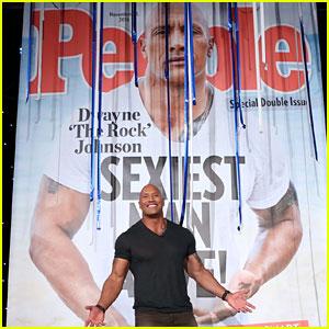 VIDEO: Sexiest Man Alive Dwayne 'The Rock' Johnson & Ellen DeGeneres Explore His Rise to Sexiness!