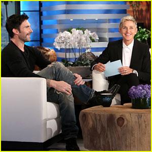 Ellen DeGeneres Helped Pick Name Dusty Rose for Adam Levine & Behati Prinsloo!