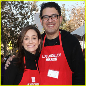 Emmy Rossum Was Naked When Sam Esmail Proposed to Her!
