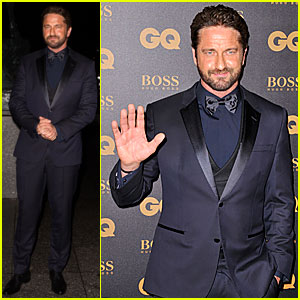 Gerard Butler Honored as GQ France's Star of the Year