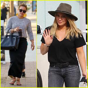 Hilary Duff Runs Errands After Returning From Tropical Getaway